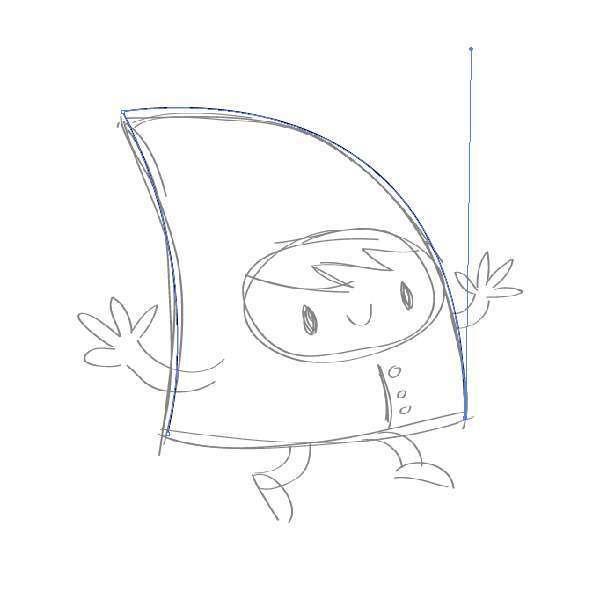 Tutorial Membuat Karakter Secara Cepat dan Unik di Adobe Illustrator CC 03