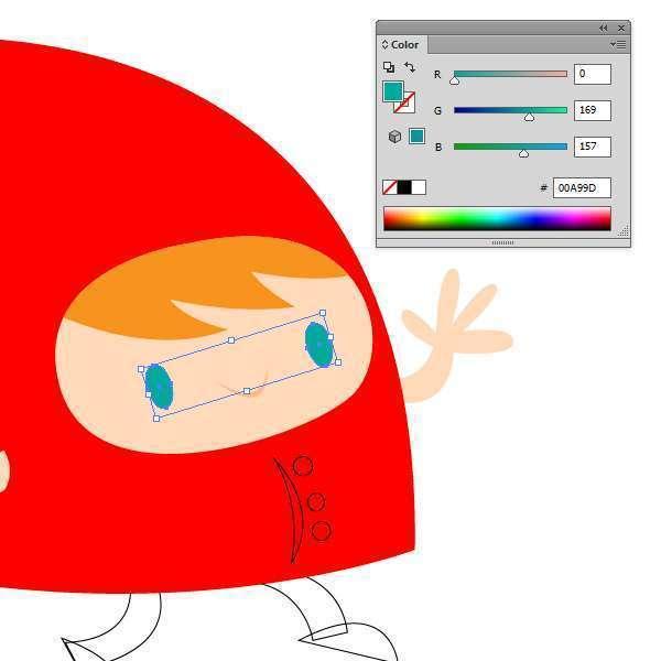 Tutorial Membuat Karakter Secara Cepat dan Unik di Adobe Illustrator CC 16