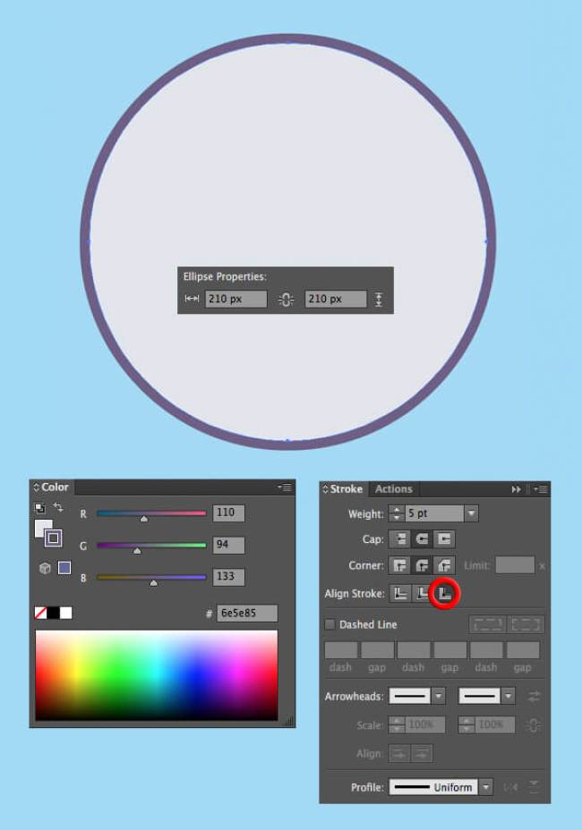 Tutorial Membuat Vektor Telur di Adobe Illustrator CC 01