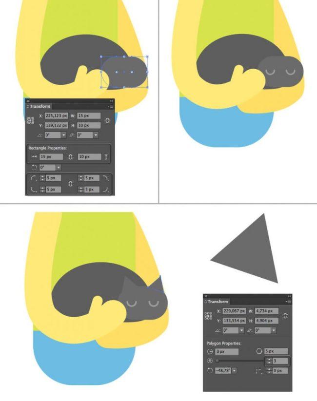 Tutorial Membuat Interior Flat Desain Flat di Adobe Illustrator CC 14