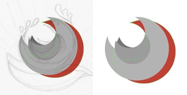 tutorial-membuat-pictorial-mark-logo-flat-chicken-di-adobe-illustrator 07