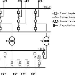 One Line Diagram Example Toyota Corolla Alternator Wiring White Paper On Implementing Ptp In Substations