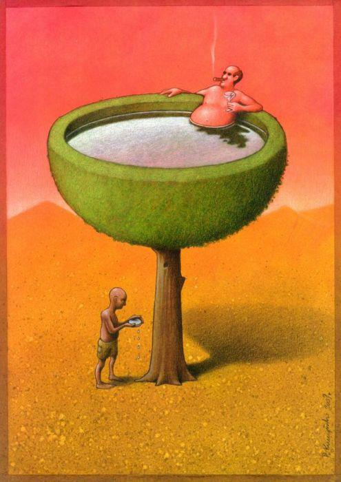 Thought Provoking Paintings By Pawel Kuczynski 14