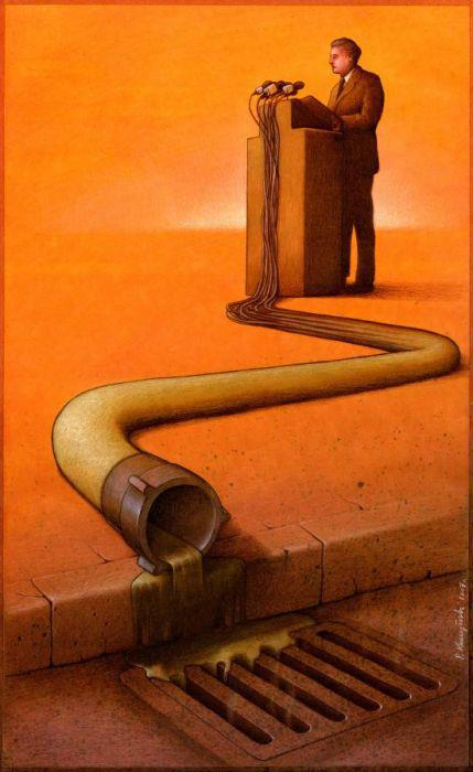 Thought Provoking Paintings By Pawel Kuczynski 16