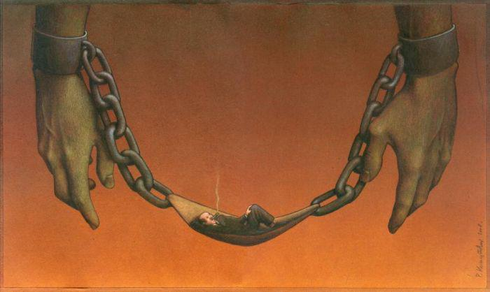 Thought Provoking Paintings By Pawel Kuczynski 20