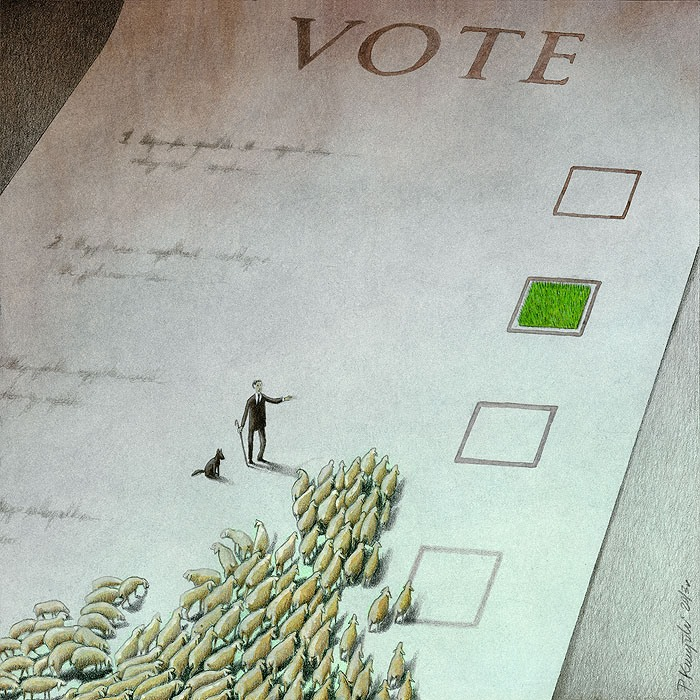 Thought Provoking Paintings By Pawel Kuczynski 26