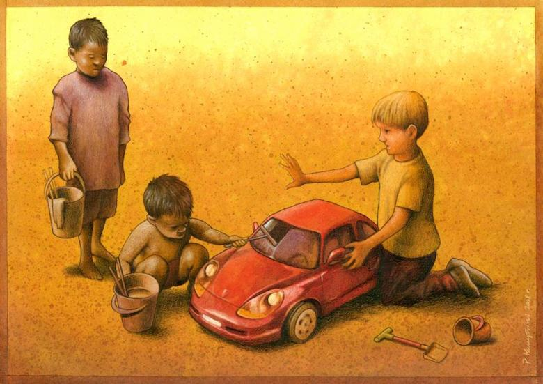Thought Provoking Paintings By Pawel Kuczynski 8