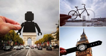 Artist Uses Paper Cut-Outs To Transform Famous Landmarks Into Something Else Entirely