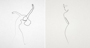 line minimal illustrations single quibe stroke continuous amazing pencil