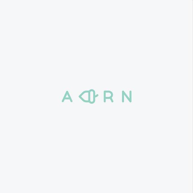 Clever Typographic Logos - Acorn