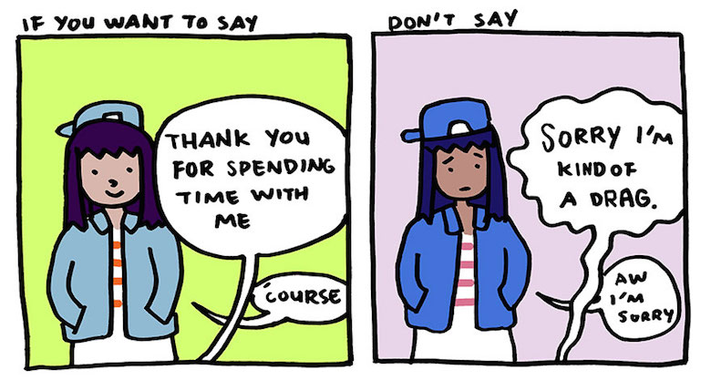 A Wonderful Comic Strip That Reminds Us To Say Thank You