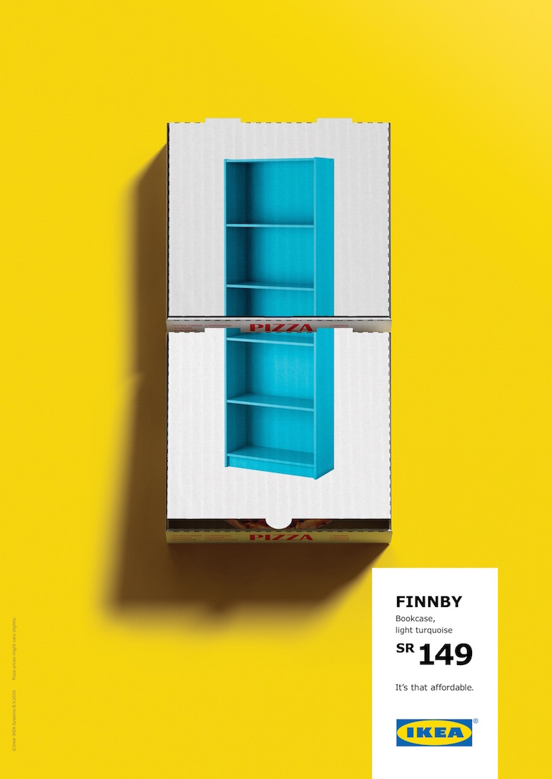 IKEA Comes Up With A Brilliant Way To Show How Affordable Their Products Are