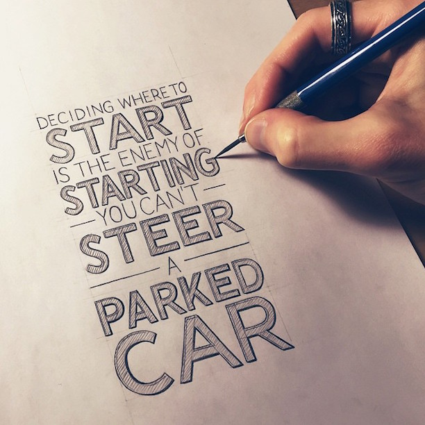 Beautiful Inspiring Hand Lettered Tips For Creatives