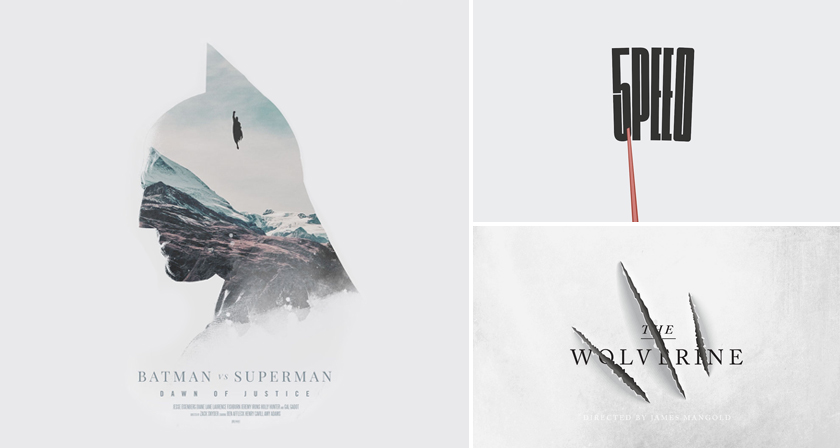 Designer Challenges Himself To Create A Movie Poster Every