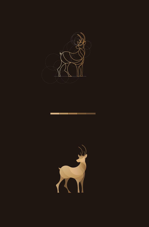 Animated Lion Wallpaper Hd Beautiful Colorful Animal Logos Based On Circular Geometry