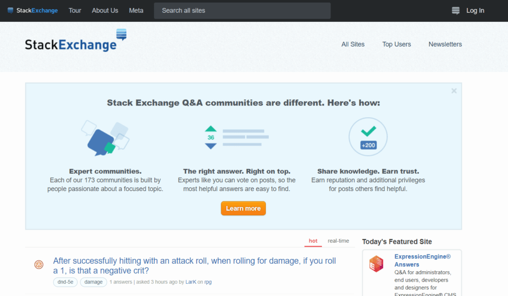 content-distribution-stack-exchange