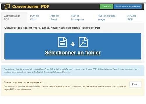 Convertir PDF en Word