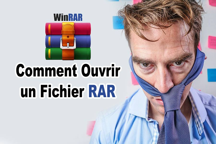 open rar file ouvrir fichier winrar