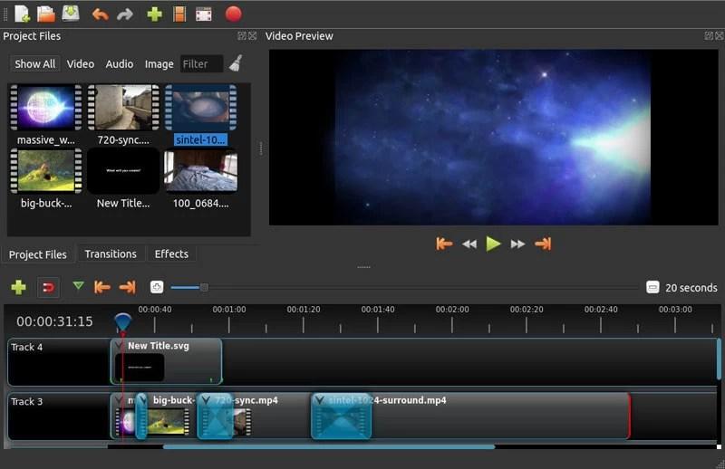 openshot-editeur-video-gratuit