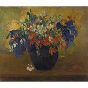Paul Gaugin A Vase of Flowers