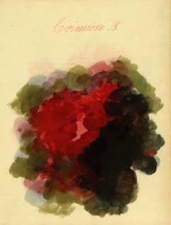 Mary Gartside Crimson composition from her book an Essay on Light and Shade