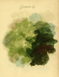 Mary Gartside Green composition from her book An Essay on Light and Shade