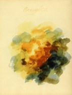 Mary Gartside Orange Composition from her book An essay on light and shade
