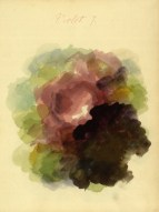 Mary Gartside Violet colour composition from her book an essay on light and shade