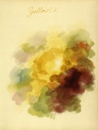 Mary Gartside yellow color composition from her book an essay on light and shade