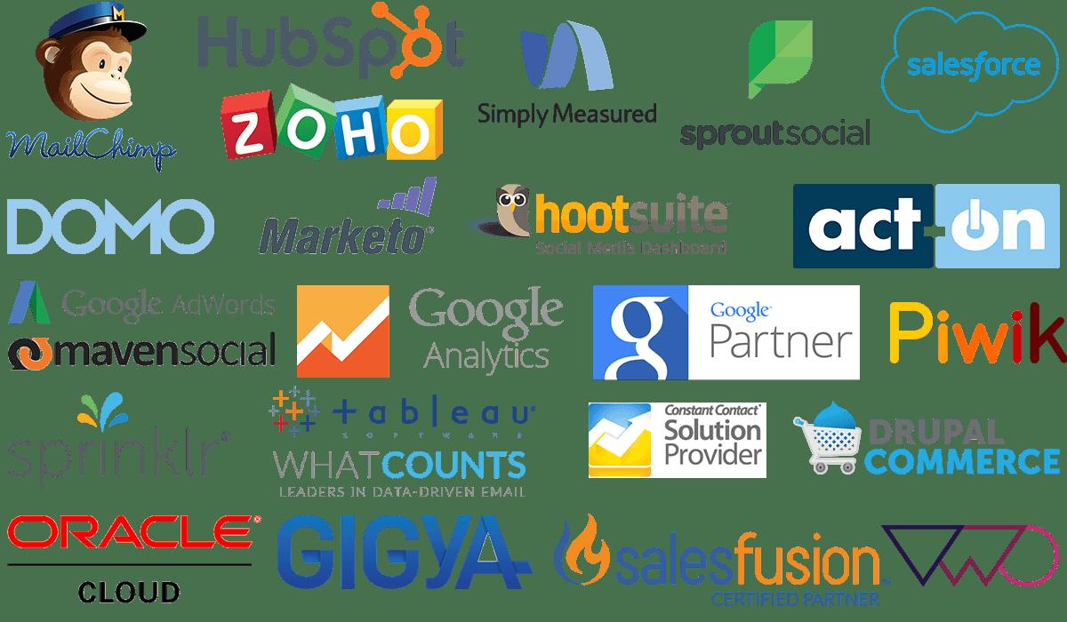 partner logos Full Stack Marketing Consultants LLC