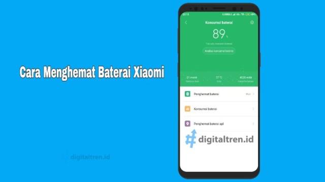 Cara Menghemat Baterai Hp Xiaomi