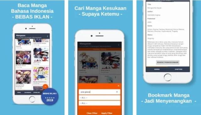 Aplikasi Android Baca Manga Bahasa Indonesia