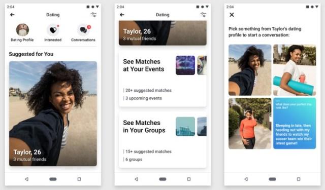 Aplikasi Facebook Dating