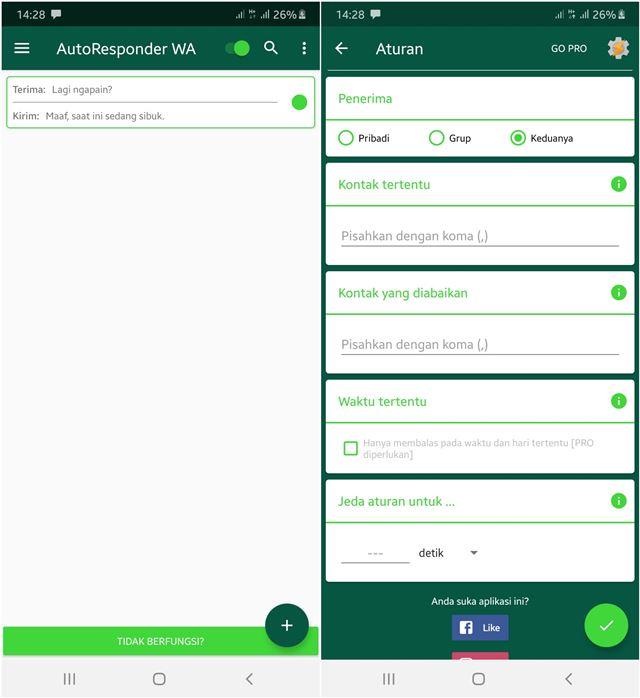 Cara Kirim Balasan Otomatis di WhatsApp Android