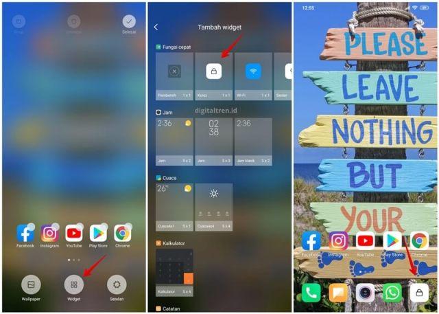 Cara Mematikan Layar Xiaomi Tanpa Tombol Power