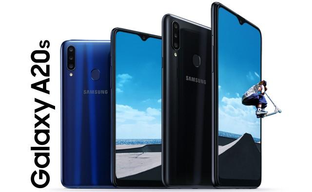 Smartphone RAM 4 GB Harga 2 Jutaan - Samsung Galaxy A20s