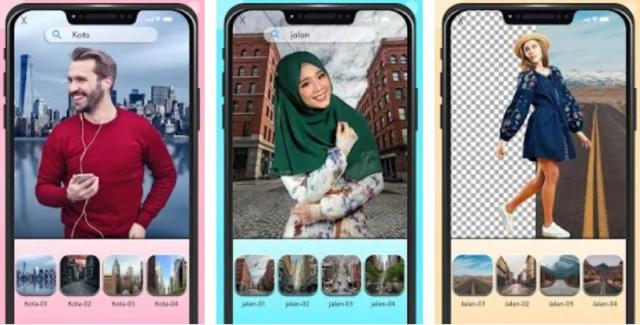 Aplikasi Edit Background Foto di Android