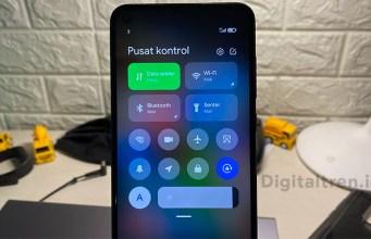 Cara Mengaktifkan Pusat Kontrol Baru di Xiaomi MIUI 12