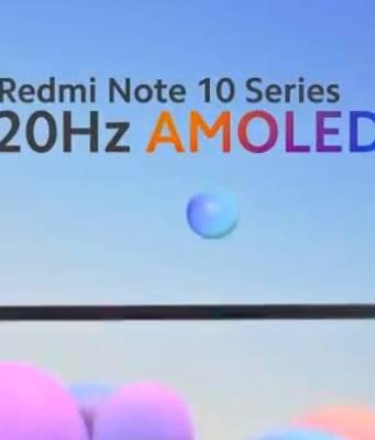 Redmi Note 10 Series Hadir dengan Layar Super AMOLED
