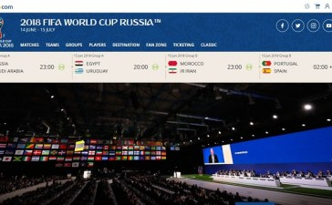 2018 FIFA World Cup Available Worldwide via Live Streaming