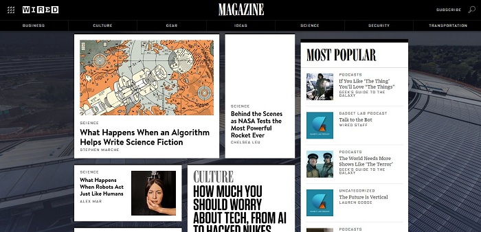 Wired Magazine Introduces New Streaming TV Channel