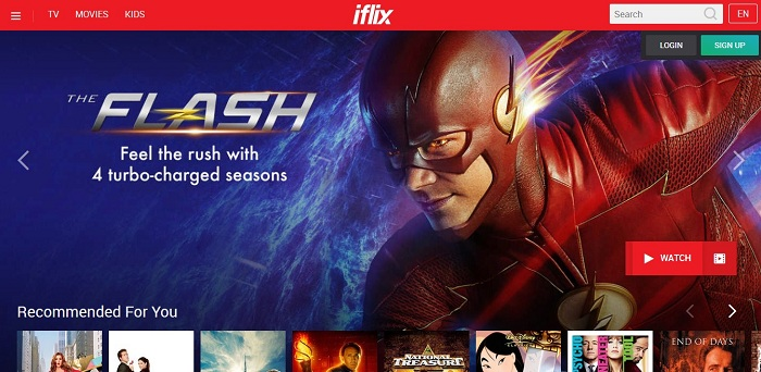 iflix Feted as Number One OTT Video Service at Telecom Asia Awards