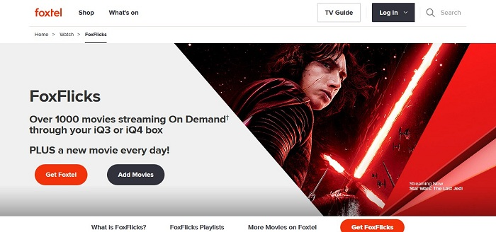 Foxtel's FoxFlicks Curated Movie Collection Awaits Streaming Fans