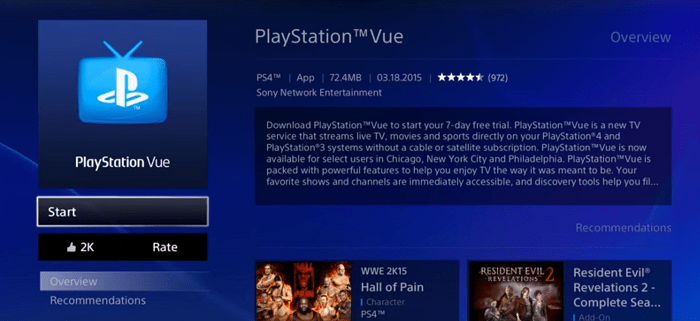 More Relevant Programming for PlayStation Vue Customers