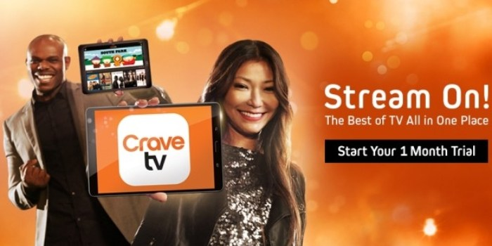 New Canadian Streaming Service, Crave, to Thrill with HBO's Latest