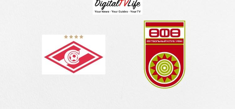 Spartak Moscow vs Ufa