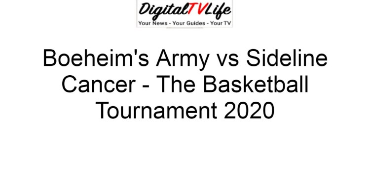 Boeheim's Army vs Sideline Cancer