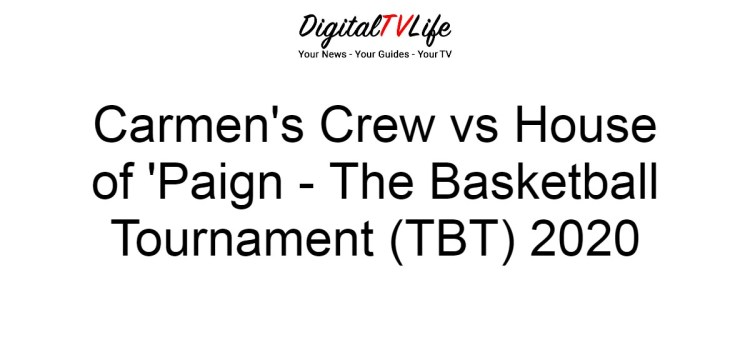 Carmen's Crew vs House of 'Paign