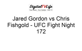 Jared Gordon vs Chris Fishgold