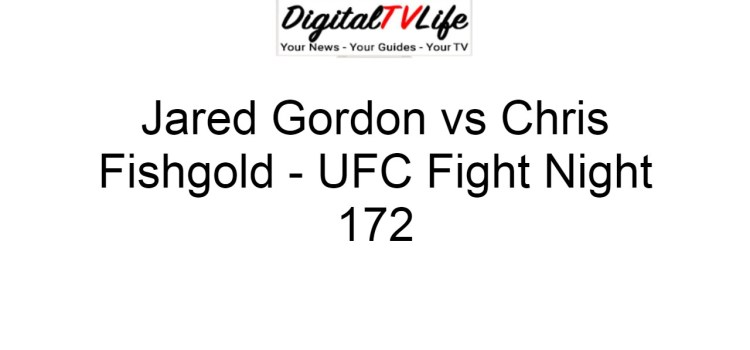 Jared Gordon vs Chris Fishgold